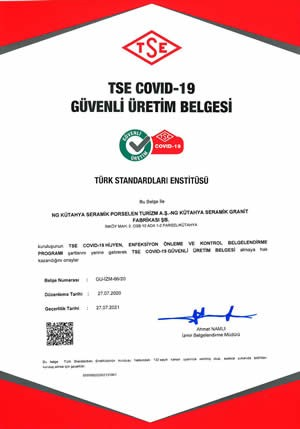 TSE Covid-19 Safe Production Certificate
