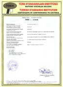 TSE Kritere Uygunluk Belgesi