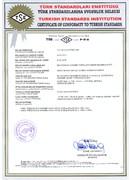 Turkish Standards Compliance-Zertifikat